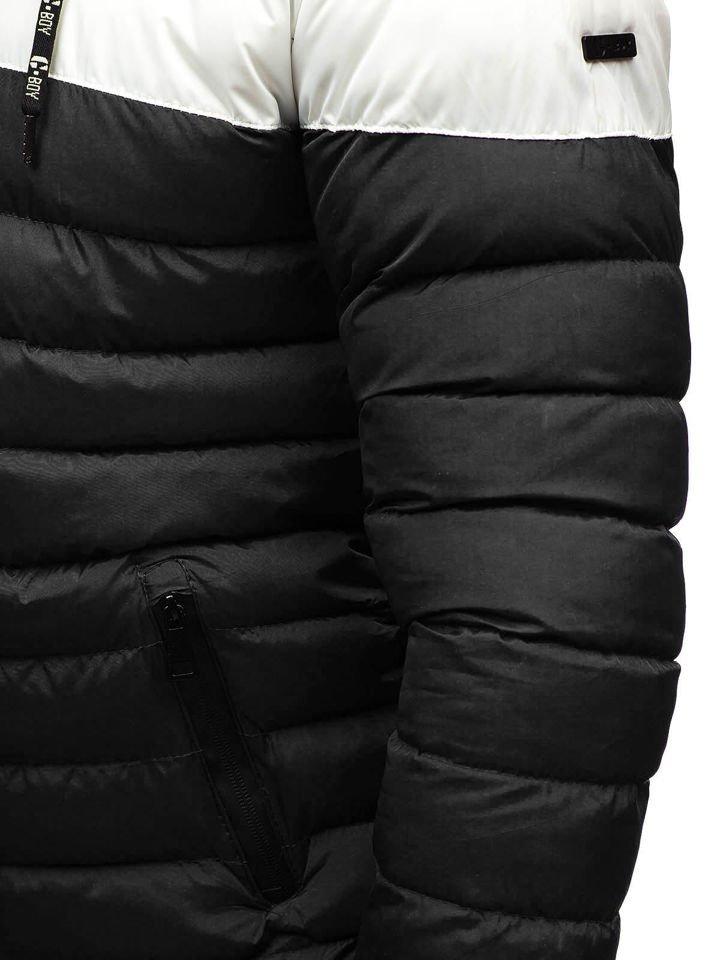 ... Чоловіча зимова куртка чорна Bolf A410 ... 85c9242be56b5