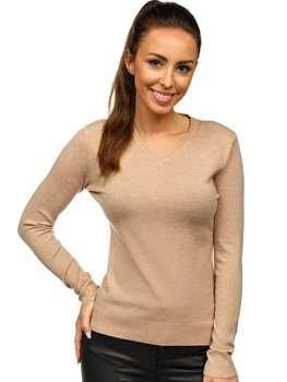 Бежевый женский свитер Bolf AL0204L
