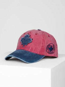 Бордовая кепка, бейсболка Bolf CZ75