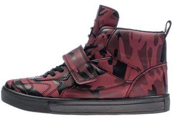 Бордовая мужская обувь Bolf 8003