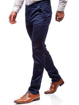 Брюки мужские темно-синие Bolf 7623