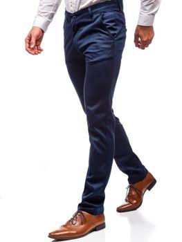 Брюки мужские темно-синие Bolf 7625
