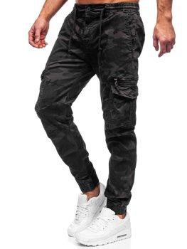 Графитные мужские брюки джоггеры карго Bolf CT6026S0