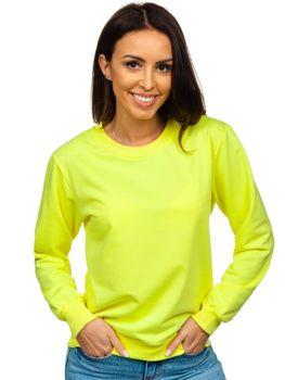 Женская желтая толстовка Bolf WB11002