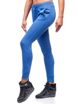 Женские спортивные брюки синие Bolf WB11003