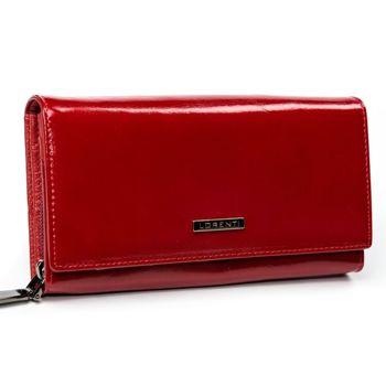 Женский кожаный кошелек красный 2903
