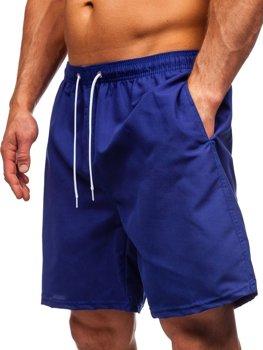 Кобальтовые мужские пляжные шорты Bolf St003