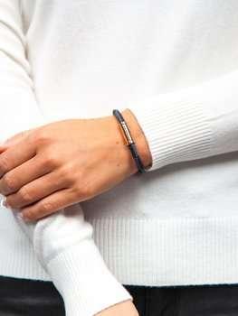 Коричневый женский браслет Bolf B029