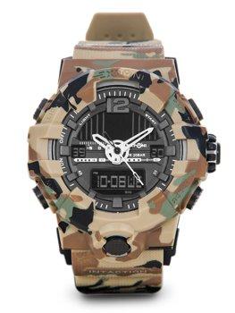 Коричневый камуфляж мужские наручные часы Bolf 3261