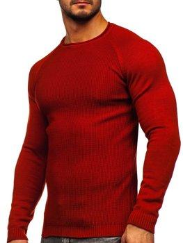 Красный мужской свитер Bolf 1009