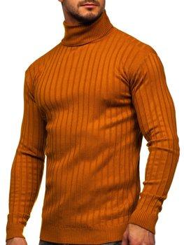 Кэмел мужской свитер гольф Bolf 520