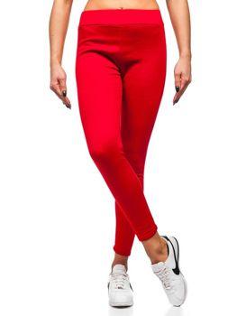 Леггинсы женские красные Bolf YW002