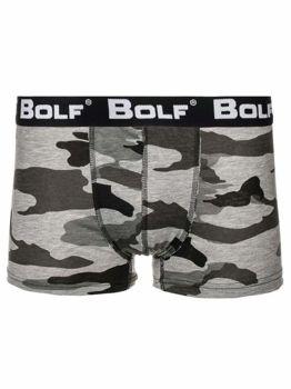 Мужские боксеры камуфляж-серые Bolf 0953-2
