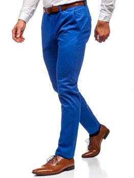 Мужские брюки чинос синий Bolf 1120