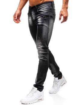 Мужские джинсовые брюки черные Bolf 9231