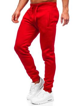 Мужские спортивные брюки красные Bolf XW01-A