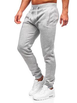 Мужские спортивные брюки  серые Bolf XW01-A