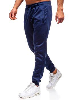 Мужские спортивные брюки темно-синие Bolf JZ11001