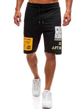 Мужские спортивные шорты черные Bolf 2026