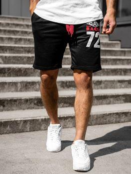 Мужские спортивные шорты черные Bolf EX05