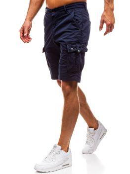 Мужские шорты карго темно-синие Bolf 82223