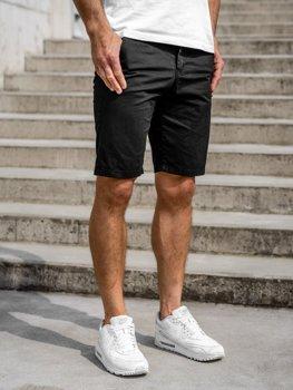 Мужские шорты черные Bolf 5919