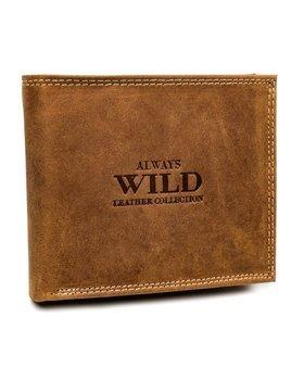 Мужской кожаный кошелек светло-коричневый 7924