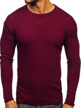 Мужской свитер бордовый Bolf 0001