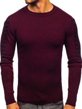Мужской свитер бордовый Bolf 360