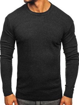 Мужской свитер графитовый Bolf 0001