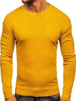 Мужской свитер желтый Bolf 0001