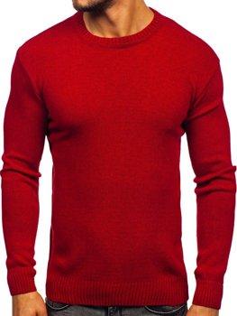 Мужской свитер красный Bolf 0001