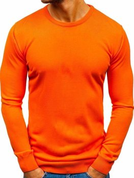 Мужской свитер оранжевый Bolf 2300