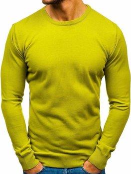 Мужской свитер светло-зеленый Bolf 2300