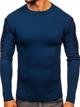 Мужской свитер синий Bolf 360