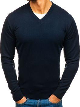 Мужской свитер темно-синий Bolf 200