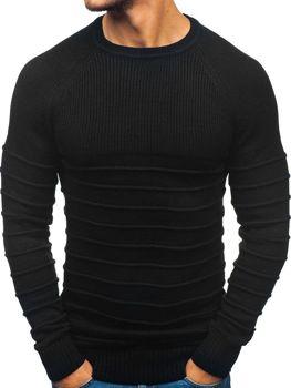 Мужской свитер черный Bolf 161