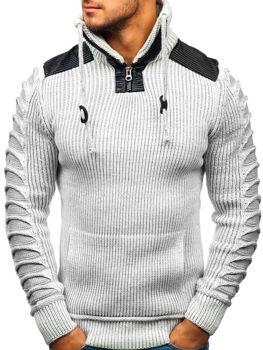 Мужской свитер экрю Bolf 20013