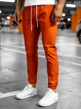 Оранжевые мужские джоггеры Bolf 1145