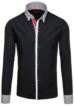 Рубашка мужская BY MIRZAD 5727 черная