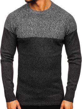 Свитер мужской темно-серый Bolf H1809