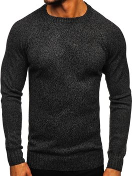 Свитер мужской темно-серый Bolf H1929