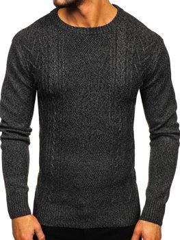 Свитер мужской темно-серый Bolf H1937