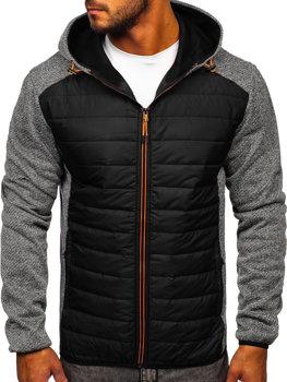 Серая мужская демисезонная куртка Bolf KS2155