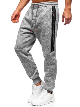 Серые мужские спортивные брюки BOLF TC980