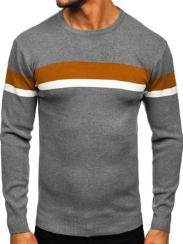 Серый мужской свитер Bolf H2072