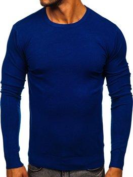 Синий мужской свитер Bolf YY01