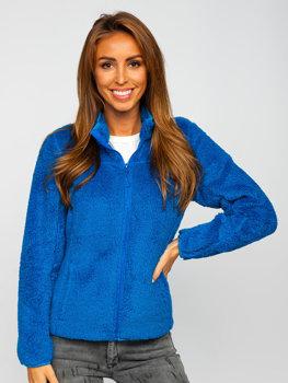 Синяя флисовая женская куртка Bolf HH006