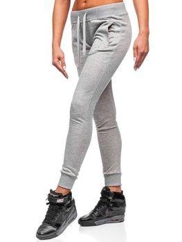 Спортивные штаны женские серые Bolf WB11003-А