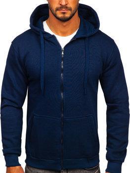 Темно-синяя мужская толстовка с капюшоном Bolf 2008